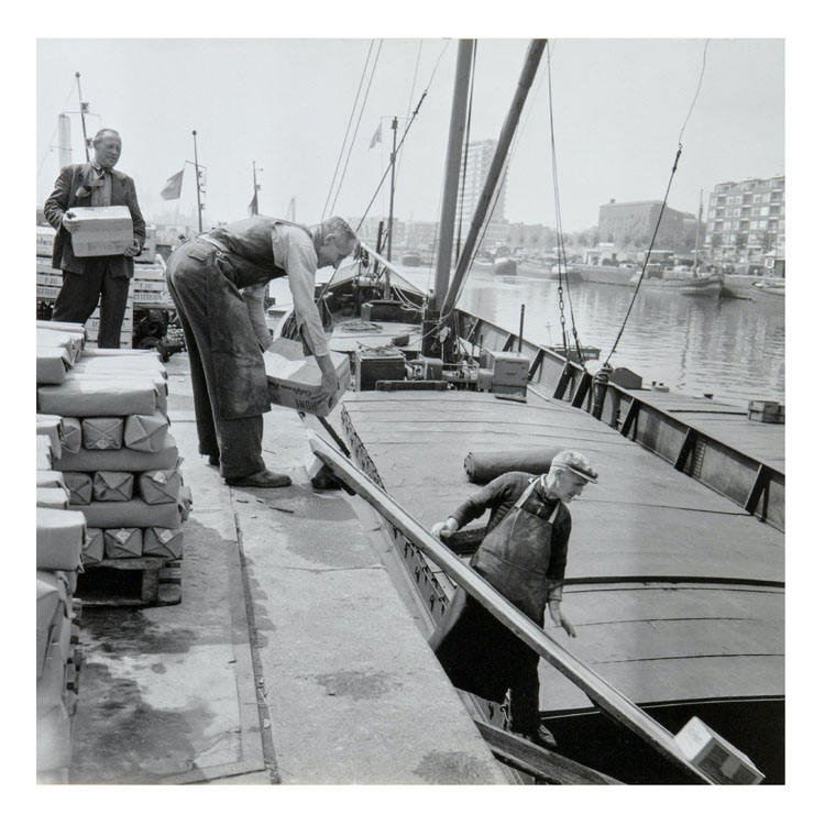 Cas oorthuys haven rotterdam